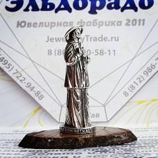 """Православная статуэтка """"Матрона Московская"""" из серебра"""