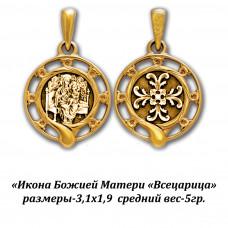 """Икона Божией Матери """"Всецарица""""."""