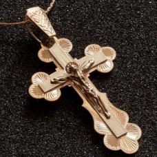 Крест из красного золота
