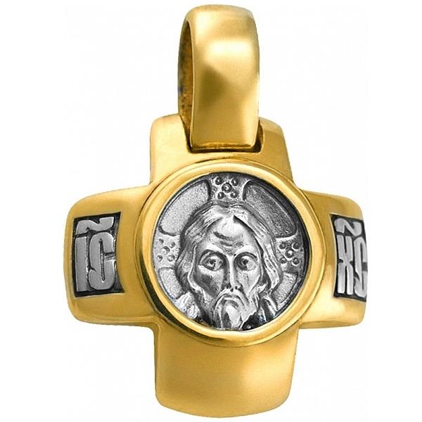 8581, Крест Православный из комбинированного золота, 7418, 49 000.00 р., 7418, , 3D Модели Православных нательных крестов