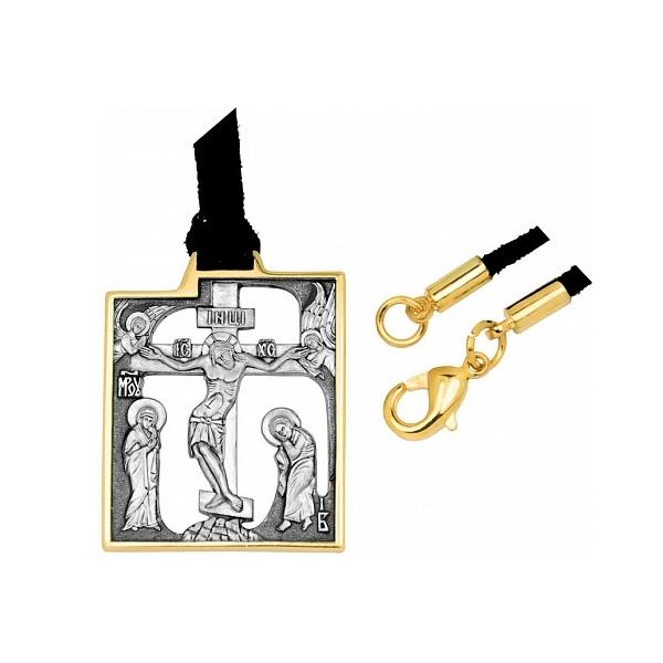 8614, Крест Православный из комбинированного золота, 7451, 29 000.00 р., 7451, , 3D Модели Православных нательных крестов