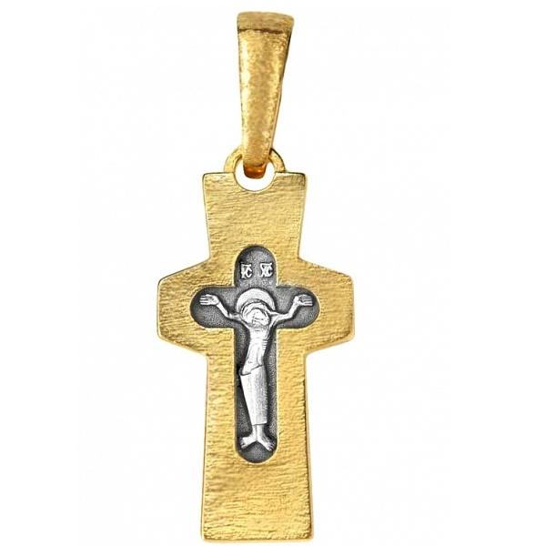 8626, Крест Православный из комбинированного золота, 7463, 25 000.00 р., 7463, , 3D Модели Православных нательных крестов
