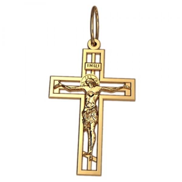 8508, Крест Православный из красного золота, 2626, 7 000.00 р., 2626, , 3D Модели Православных нательных крестов