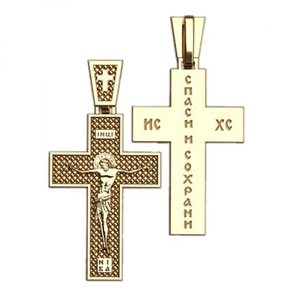 8513, Крест Православный из красного золота, 2631, 14 000.00 р., 2631, , 3D Модели Православных нательных крестов